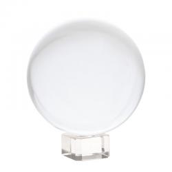 Sphère cristal + support - 10cm